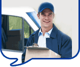 image of a delivery man