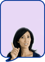 image of lady talking